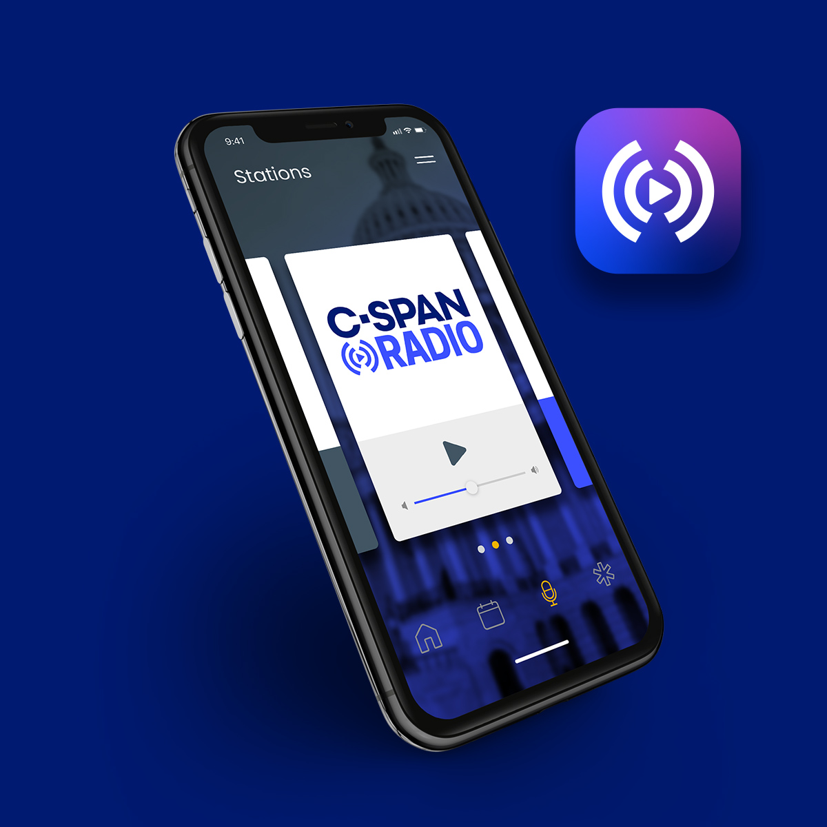 Cspan Radio application