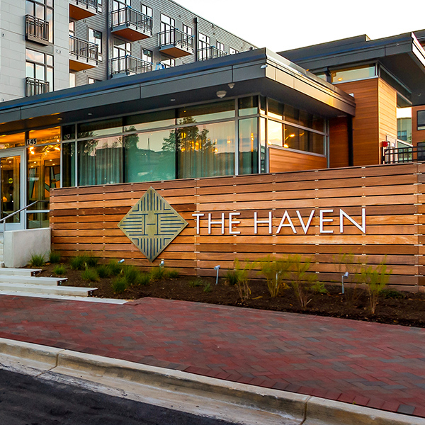 Photograph of the Haven resident.